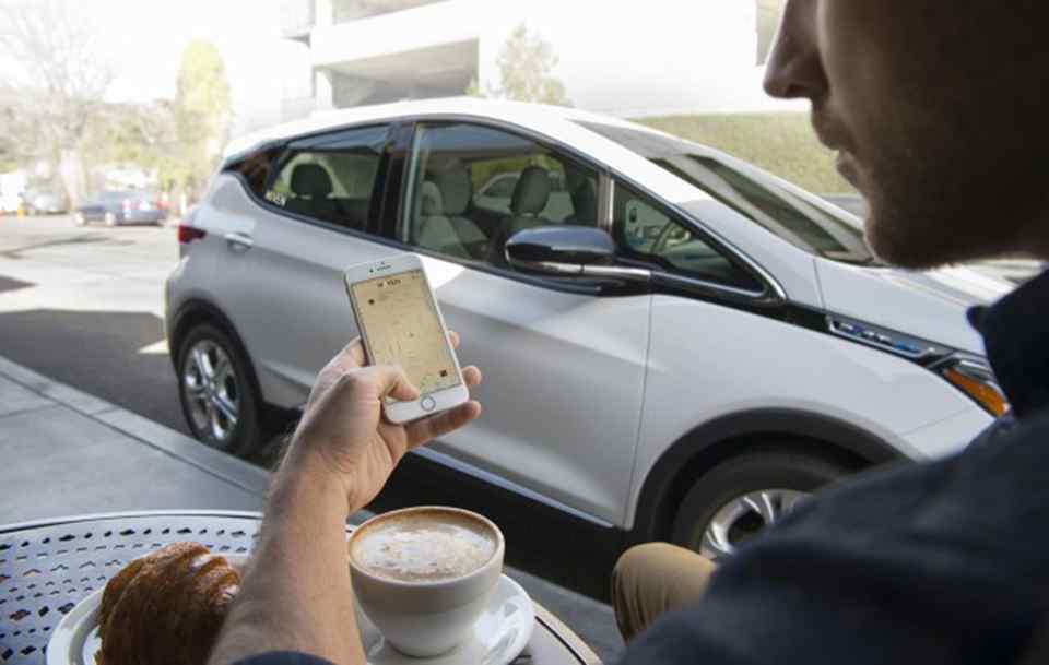 Car-sharing GM