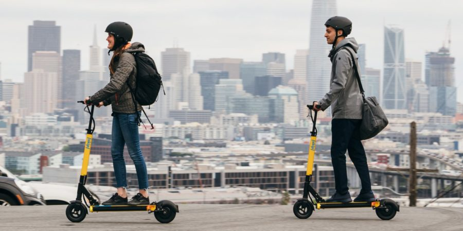 Why are bike share companies pivoting to e-scooters?