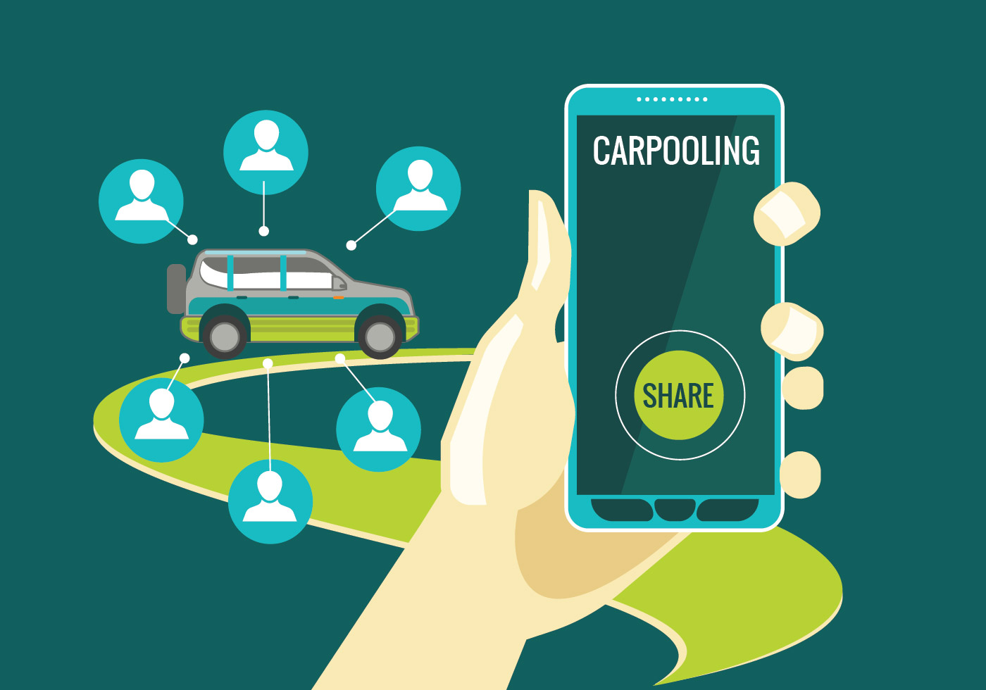 Car Pooling Saves More Than 1 6 Million Tonnes Of Co2 Per Year