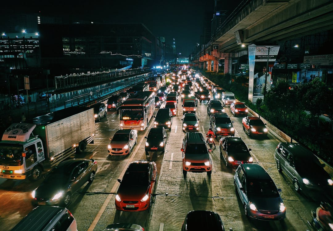 Traffic management using IoT & facial recognition
